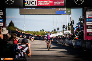 Hometown Hero Wins Big at the UCI MTB World Cup