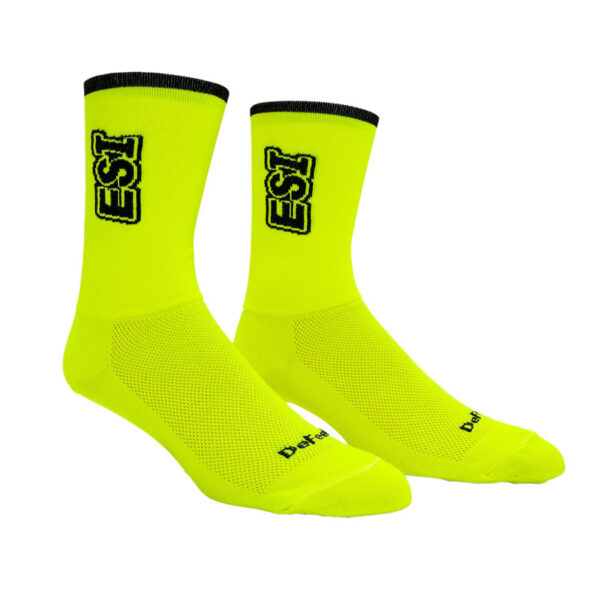 DeFeet Aireator Socks (Neon Yellow)